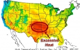 Extreme Heat Continues to Plague South Central States