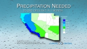 How Much Precipitation is Needed to End the Drought?