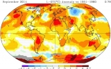 September Was Warmest on Record, NASA Data Shows