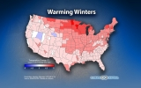 How Winters Are Changing Throughout the U.S.