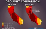 After December Rains, California Comes Up Dry