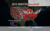 Dry or Snowy? Winter Weather Splits the U.S.