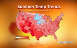 Here's How Much U.S. Summers Have Warmed Since 1970