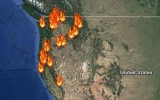Interactive Wildfires Map Tracks the Blazes in the U.S.