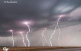 Picture This: Summer Snow and Gnarly Lightning