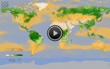 NASA Animation: Watching the Earth Breathe